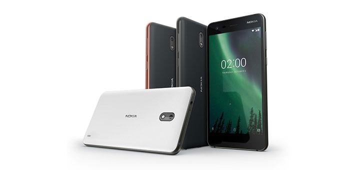 Imágen del Nokia 1, uno de los primeros equipos que vendrá con Android Go