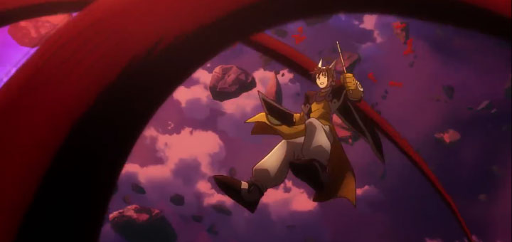 Escena del trailer del anime Hakyuu Houshin Engi