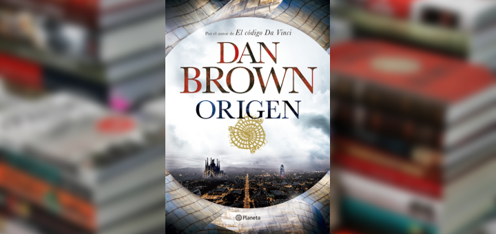 """Portada del libro """"Origen"""" de Dan Brown"""