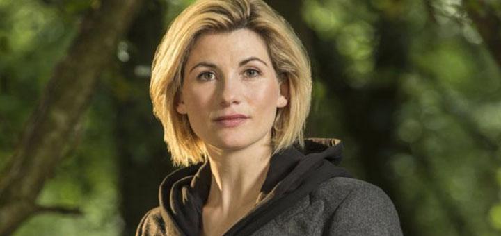 """Imágen de Jodie Whittaker, encargada de representar al """"Doctor Who"""" en su nueva encarnación"""