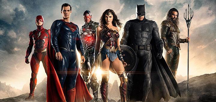 """Poster de """"Justice League"""" extraído de IMDb"""