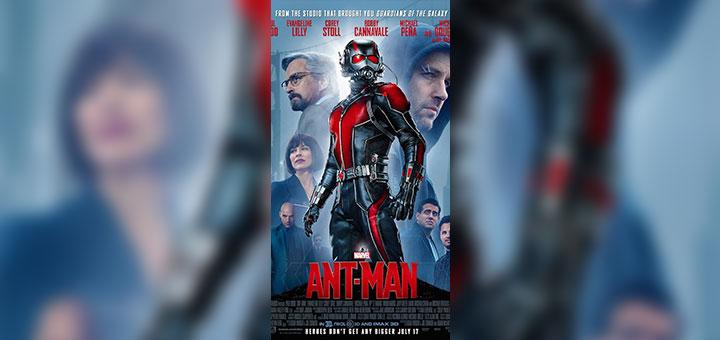 Portada de Ant-Man tomada de IMDb