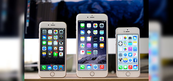Foto de iPhone 6, iPhone 6 Plus, iPhone 5S de Apple Inc