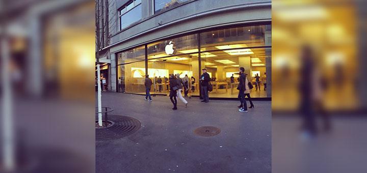 Foto de Apple Store ubicada en Zürich, Suiza