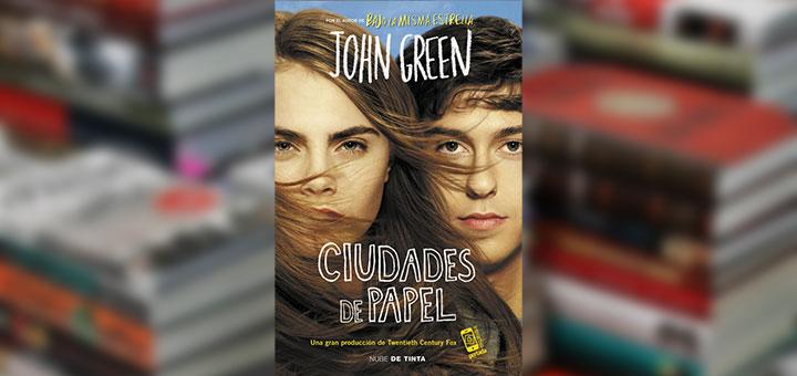 "Portada de ""Ciudades de papel de"" John Green"