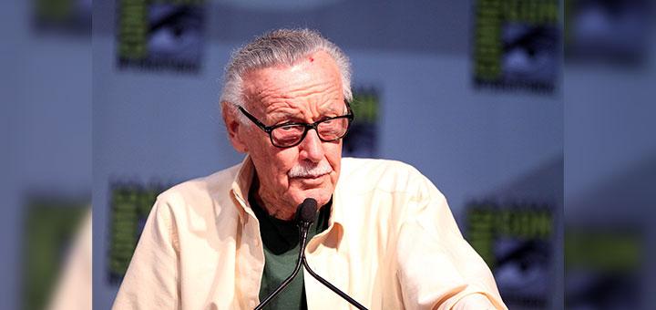 Fotografía de Stan Lee en Comic Con 2010 (San Diego, California)