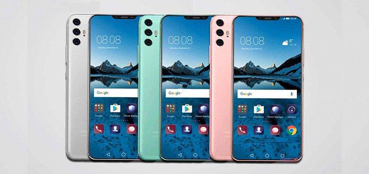 Foto del Huawei P20, Huawei P20 Plus y Huawei P20 Pro