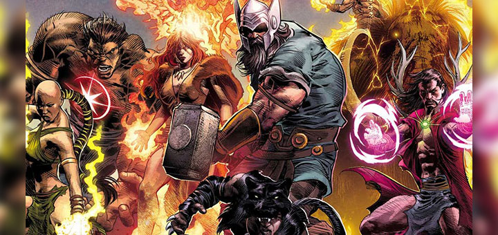 Marvel Legacy, Marvel Legacy #1 se estrena con Marvel Avengers Prehistóricos, Blog de Vladimir Ramos, Blog de Vladimir Ramos