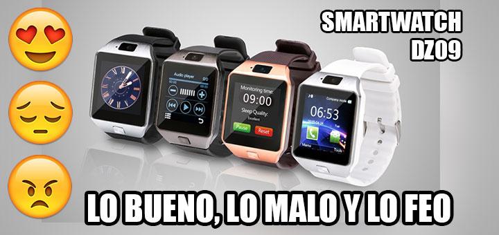Foto de los distintos colores del smartwatch DZ09