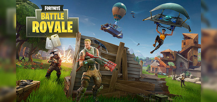 Captura de pantalla de Fornite Battle Royale