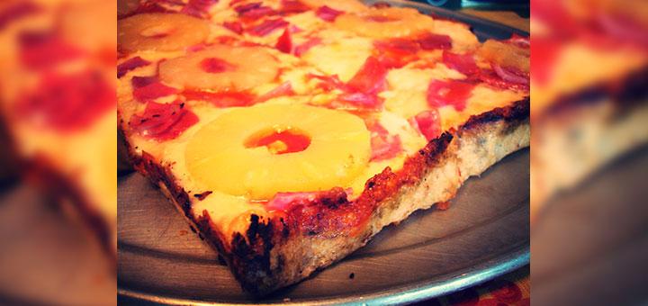 Foto de Pizza Hawaiana casera