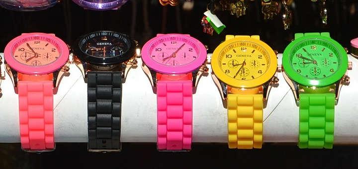 Tipos de reloj para cada ocasión: Reloj Casual - Colores