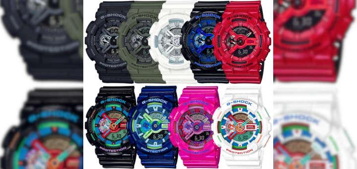 Tipos de reloj para cada ocasión: Reloj Casual - Colores G-Shock