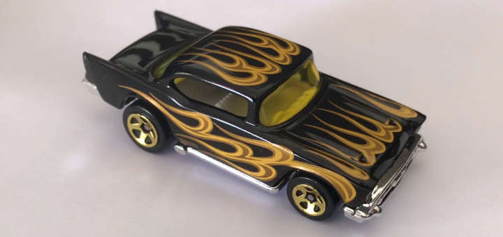 Foto de Chevy 57 de la compañía Hot Wheels.