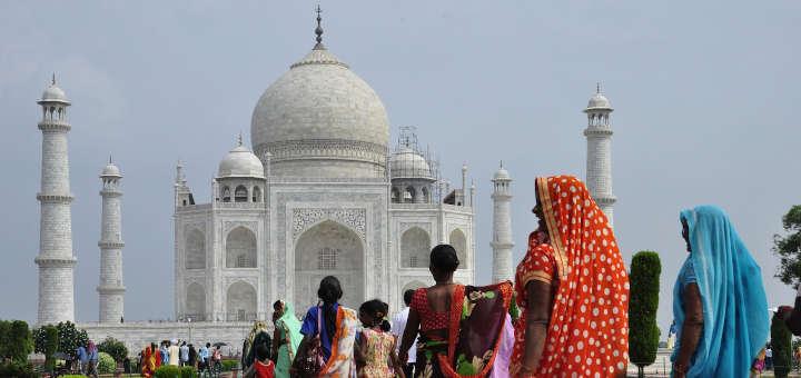 Paisajes hermosos: Taj Mahal