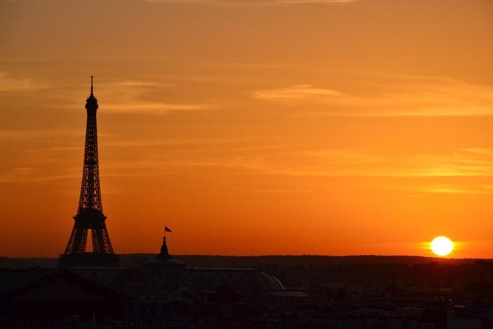 Paisajes hermosos: Torre Eiffel