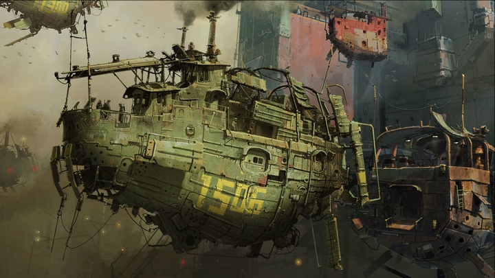 Pack Wallpapers Steampunk - (1920 x 1080)