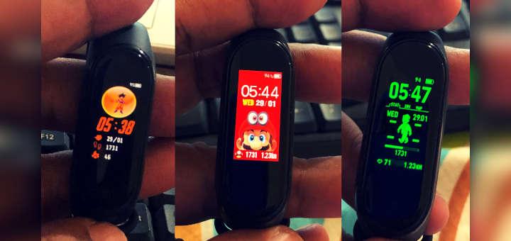 Cambiar fondo de la Xiaomi Mi Band 4 en IOS (iPhone)
