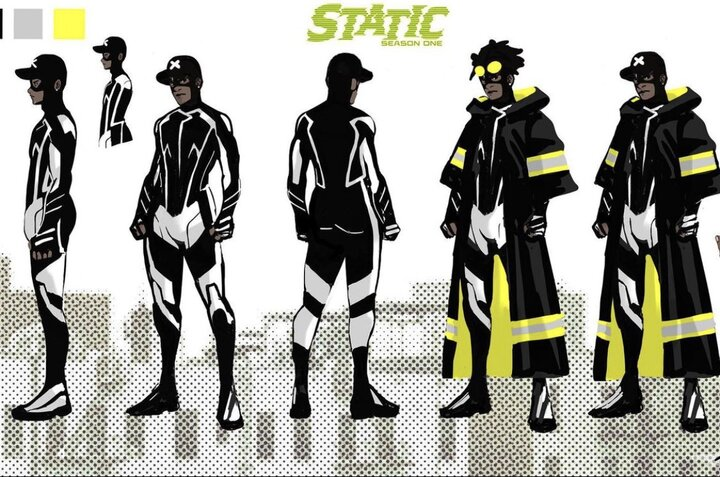 Nikolas Draper-Ive revela el nuevo atuendo de Static